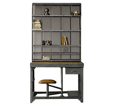 industrial hutch bookshelves bookshelf style furniture and